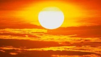 Lysande sol